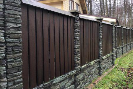 Забор Танвальд