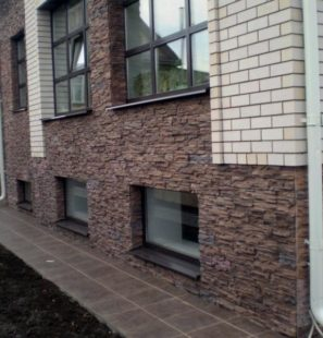 Облицовочный камень для фасада